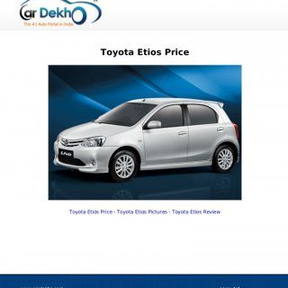 Toyota Etios Price Toyota Etios Price - Toyota Etios Pictures - Toyota Etios Reviewwww.cardekho.com page:-1/4   Toyota Etios Prices As On 20/Jun/2012 Toyo. http://slidehot.com/resources/toyota-etios-price-15jun2012.58802/