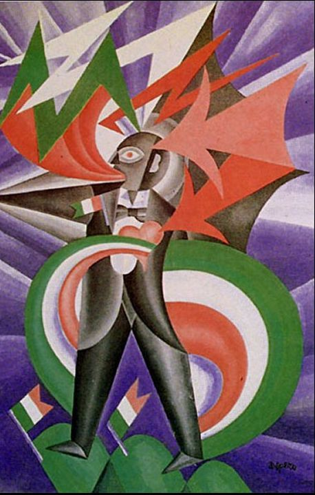 Filippo Tommaso Marinetti art - Google Search | Futurism ...