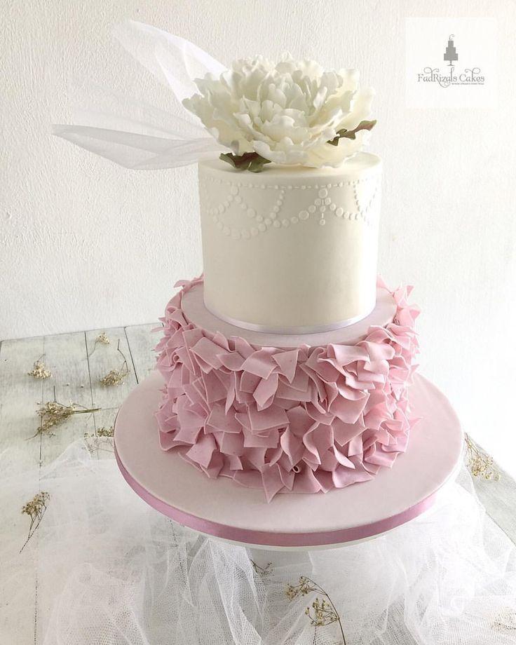 The 21 best wedding cakes images on pinterest cake wedding cake fondantcake gumpasteflower tq mazlin from kampar perak fiza junglespirit Image collections