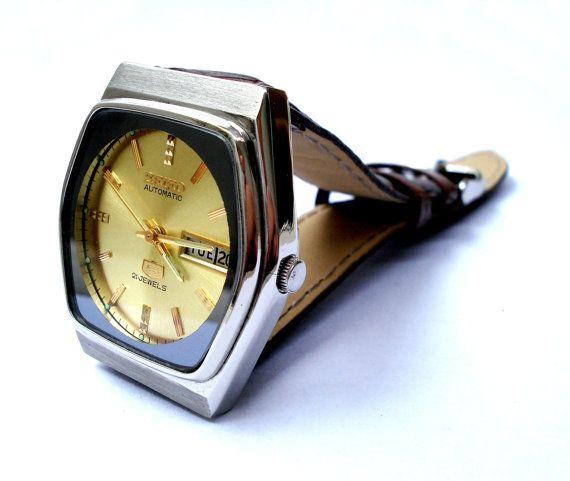 Vintage Reloj SEIKO 5 Automatico Mod. 6309 Day & por shopvintage1