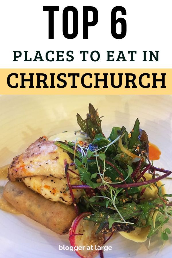 best restaurants in christchurch nz