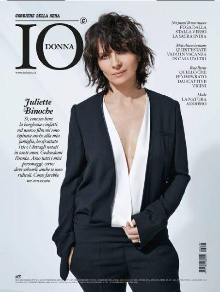 Juliette Binoche - Io Donna Magazine Cover [Italy] (2 July 2016)