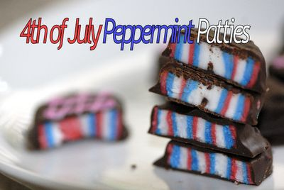 4th of July Peppermint Patties by @Haniela's