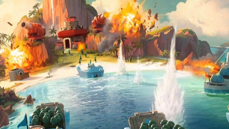 """AUF """"CLASH OF CLANS"""" FOLGT """"BOOM BEACH"""" AUS FINNLAND Ist diese Spiele-App der neue Millionen-Hit?"""