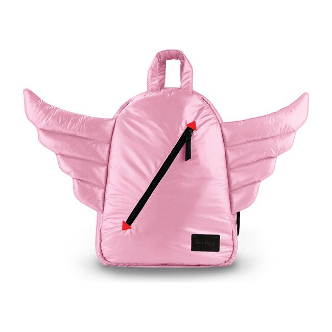 Now little ones can learn to fly with their MINI Wings Backpack! Complete with soft wings and vibrant colors, the MINI backpack is perfect for carrying treats and toys or playing dress up! Trust us when we tell you they'll be carrying their own stuff in their new backpack.   7AM Enfant   Mini Wings Backpack, Blush (Pink)     Maisonette collects the best children's products from around the world (unlike Zulily, Etsy, The Tot, Farfetch Kids, Childrensalon, Crate and Kids, Kohls, Wayfair, Buy… Toddler Backpack, Mini Backpack, Mini Bag, Fun Outdoor Activities, Dress Up Day, Go Bags, Girls Accessories, Playing Dress Up, Cute Designs