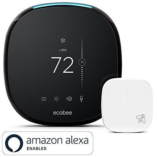 ecobee4 Thermostat with Sensor Amazon Alexa Built-in