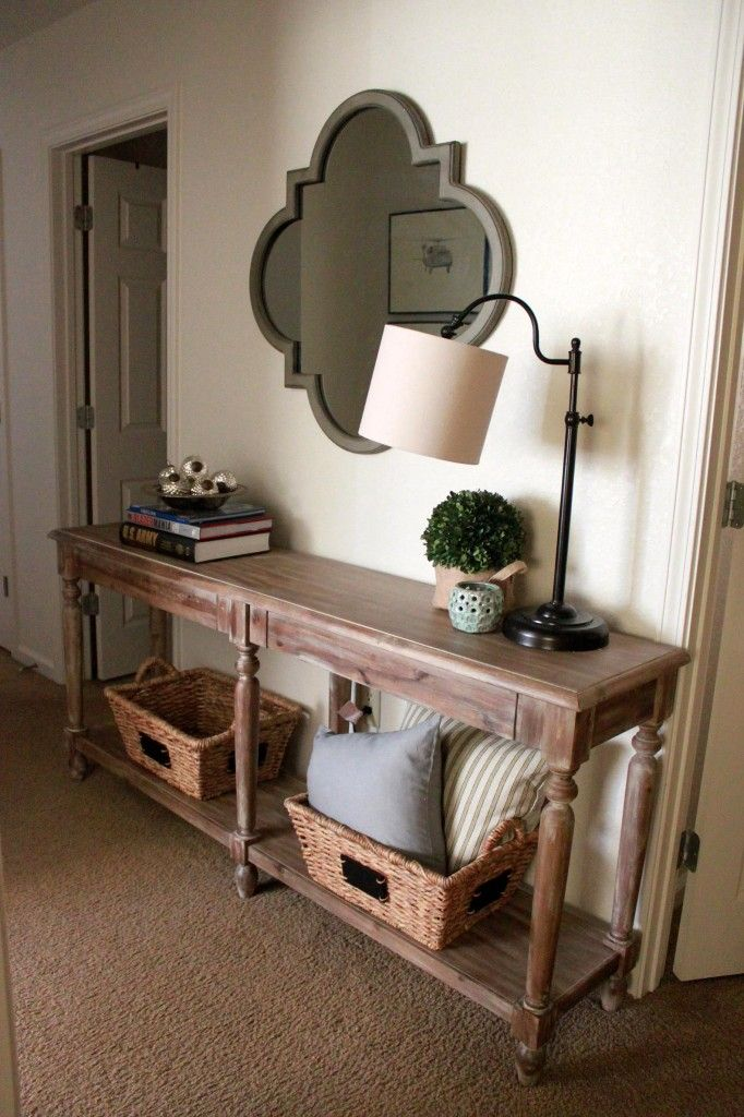 World Market Everett Foyer Table And More On The Blawg Wool Flax Pinterest Room House