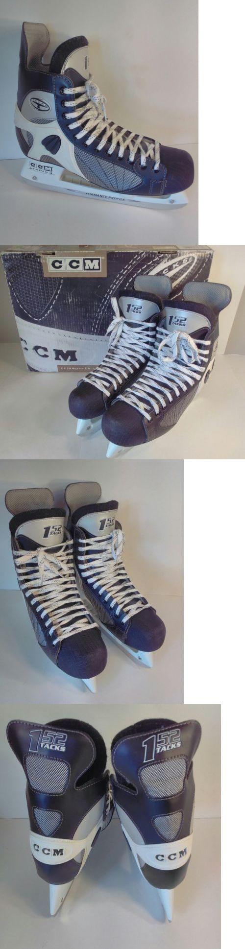 Women 21227: Ccm Tacks High Performance Pro Hockey Ice Skates Mens 12D Blkwht Sansole New Box -> BUY IT NOW ONLY: $64.99 on eBay!