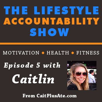 5: Caitlin talks about balancing diet and exercise as a young professional - @Caitlin Burton Croswell
