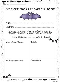 who stole halloween book report My favorite part was when my students were asking when they can do their next book report of the report forms from the teaching barn: halloween will be here.