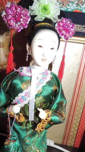 Geisha--China-Puppen-Figuren