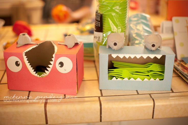 DIY Monster Themed First Birthday Party