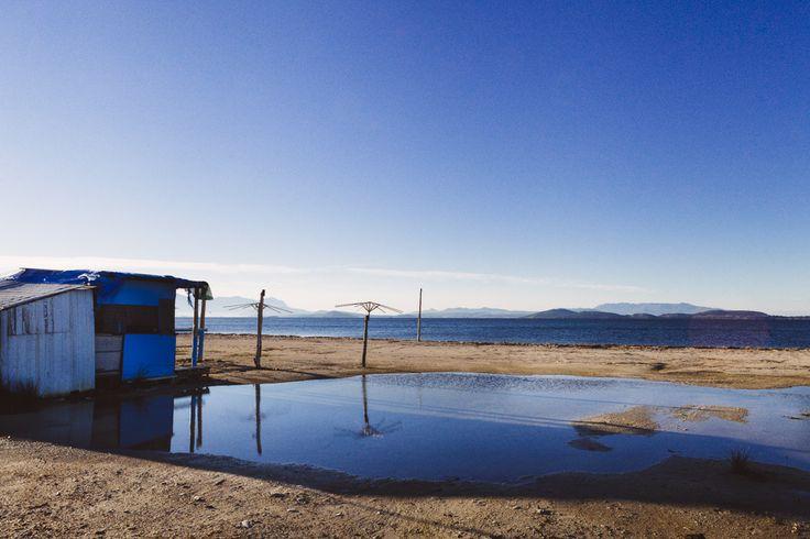 Τα απόνερα της θάλασσας... και η καλύβα ενός ψαρά! #arive #photo #12_12_2013 #fisher #sea #shack http://ow.ly/rH28O