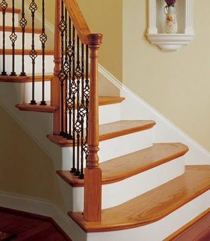 2 Helpful tips to remember when selecting wood stair treads