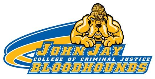 Bloodhounds, John Jay College of Criminal Justice (New York, New York) Div III, City University of New York Athletic Conference #Bloodhounds #New YorkNew York #NCAA (L10009)