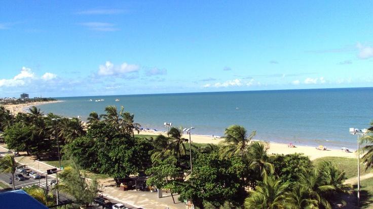 Uma das mais belas vistas de minha amada João Pessoa - Paraíba (Orla da praia de Cabo Branco)