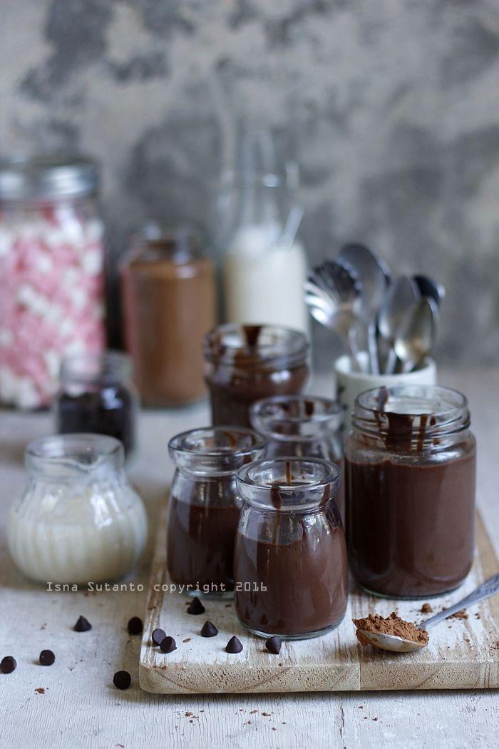 Coba Coba Yuk Silky Chocolate Pudding Pudding Desserts Makanan Penutup Puding Coklat