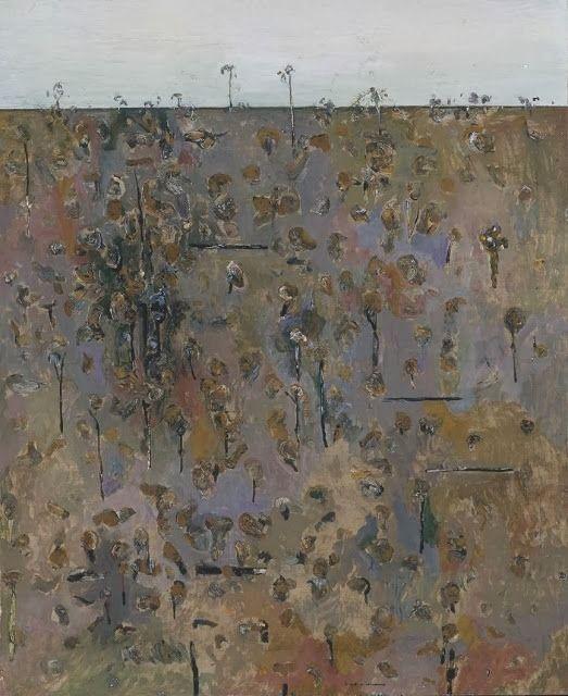 Fred Williams Burnt Landscape