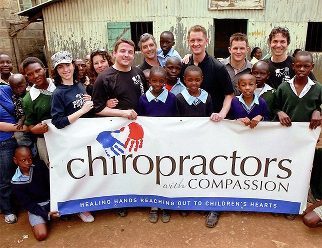 Schultz Chiropractic and Wellness Centre regularly tithes to Compassion Canada, an organization dedicated to bringing children and communities out of severe poverty. Dr. Mike Schultz had the privilege of traveling to Africa and visiting sponsored children.