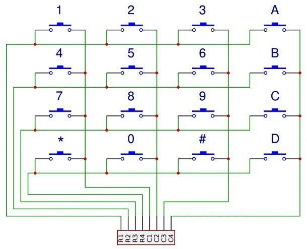 Arduino Circuit, Pc Keyboard Wiring Diagram
