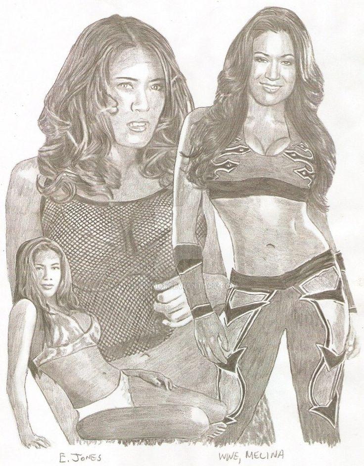 WWE, Melina by eazy101