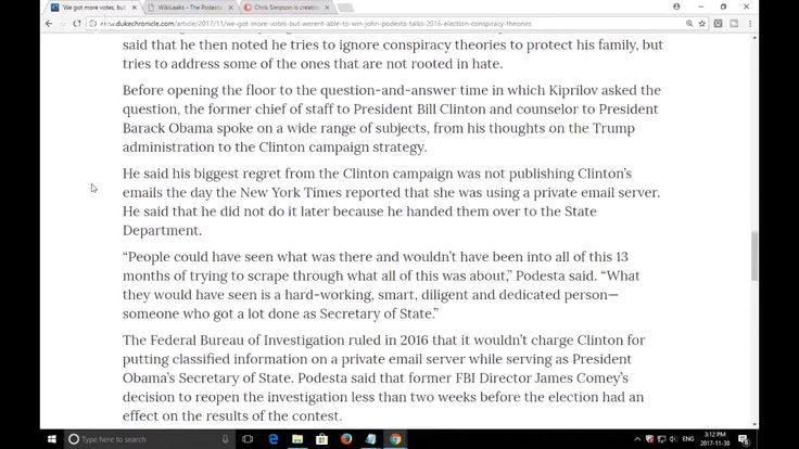 Upset John Podesta Throws Tantrum Over Unscripted Question, Says He's Su...