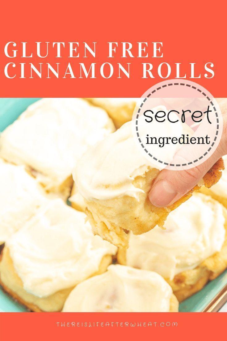 Gluten Free Cinnamon Rolls Recipe In 2020 Gluten Free Cinnamon
