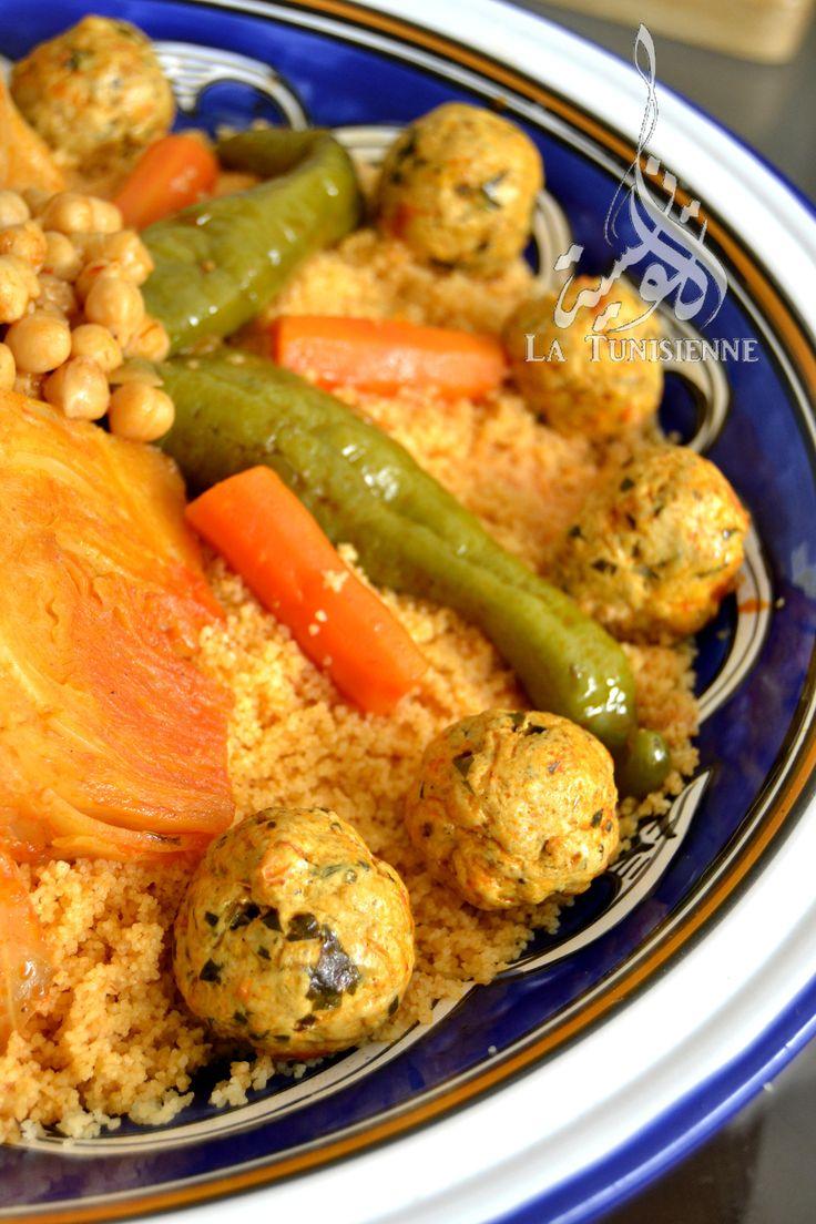 couscous aux boulettes poulet 3