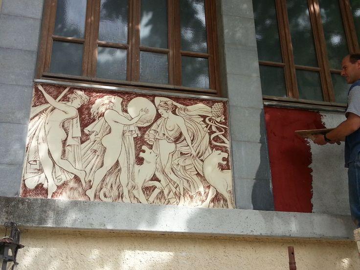 Ritratti e affreschi di Franco Pagliarulo