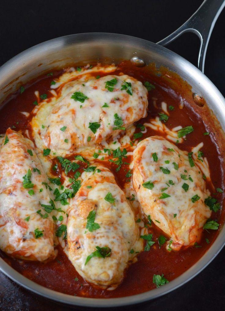Campbells skillet chicken parmesan