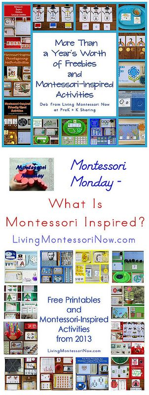 Montessori Monday - What Is Montessori Inspired?