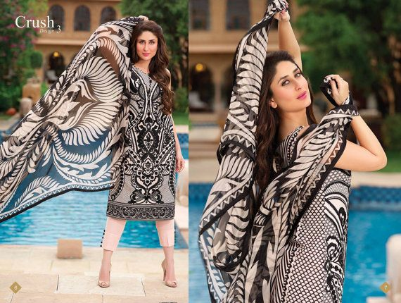Original Faraz Manan Designer Indian Pakistani Salwar by Pinkshink, $155.00