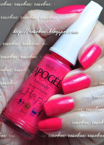 RoseBox: Unhas românticas #nailart