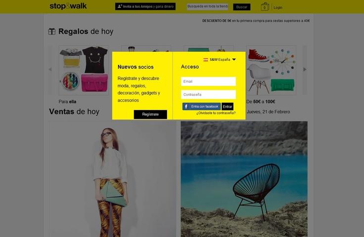 Stop Club de ventas privadas de productos de diseño y originales