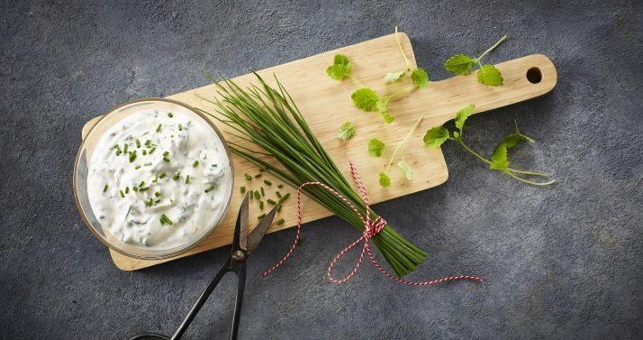 Yoghurt med urter