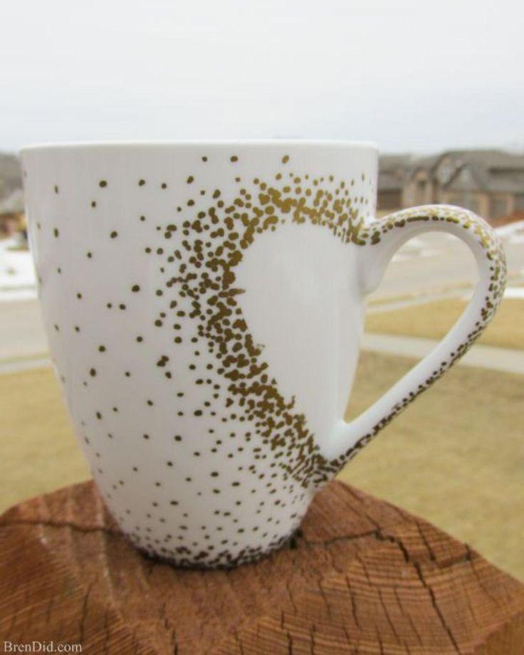 plus de 25 id es g niales de la cat gorie sharpie de tasse caf sur pinterest tasses. Black Bedroom Furniture Sets. Home Design Ideas