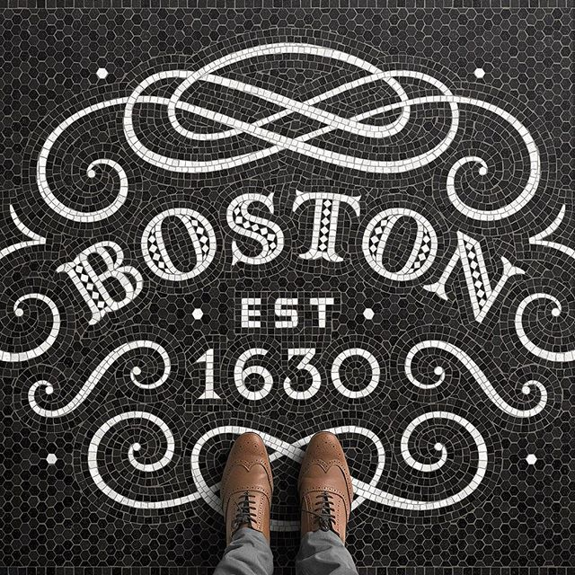 I LOVE visiting #Boston, and the fact that some of my best friends live there makes it even better (sadly, none of them speak in that epic Boston accent yet) 😍 Mosaic theory tidbit: usually, there is a line that traces the perimeter of the main subject. This technique is called Opus Vermiculatum (because it worms around the edges). Sometimes, like in this case, there are two (or more) rows of this type of tiling ☝🏼✨ — Thank you all for the awesome feedback on what you'd like to see in my…
