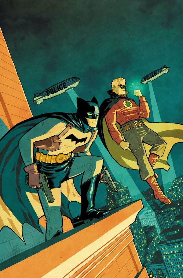 Batman & Green Lantern by Cliff Chiang
