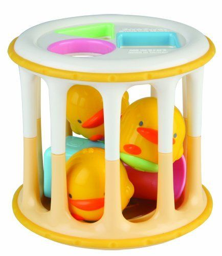 Piyo Piyo Rolling Barrel by Piyo Piyo. $8.57. The brand Piyo Piyo was launched in the year 1990, named after the sound of a little duckling. More fun than a barrel of monkeys, this toy encourages baby to crawl and play. This toy is an educational one that makes it easy for parents to interact with baby in fun ways.