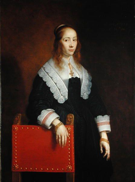 Bartholomeus van der Helst - Portret van een jonge vrouw