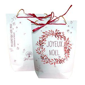 DIY : imprimez et téléchargez gratuitement le gabarit du sac en papier, pochette surprise à faire chez vous par Joli'Essence.
