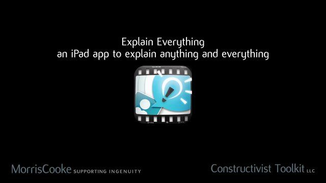 Explain Everything is an easy-to-use design, screencasting, and interactive whiteboard tool that lets you annotate, animate, narrate, import, and export almost anything to and from almost anywhere.