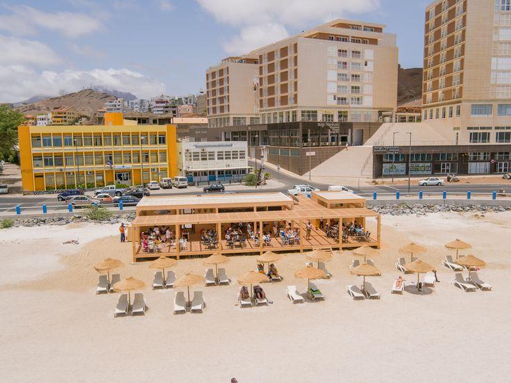 localização Praia da Laginha, Mindelo