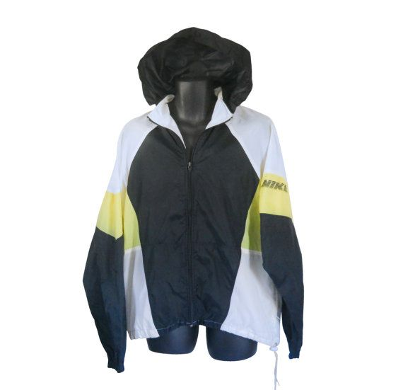Vintage 90s Nike Windbreaker Men Windbreaker Jacket 80s by #ShineBrightVintage