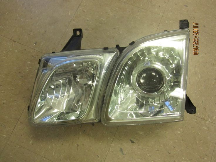 02 2002 LEXUS LX470 LX 470 LEFT DRIVER SIDE HEADLIGHT HEAD LIGHT #L2 #Lexus