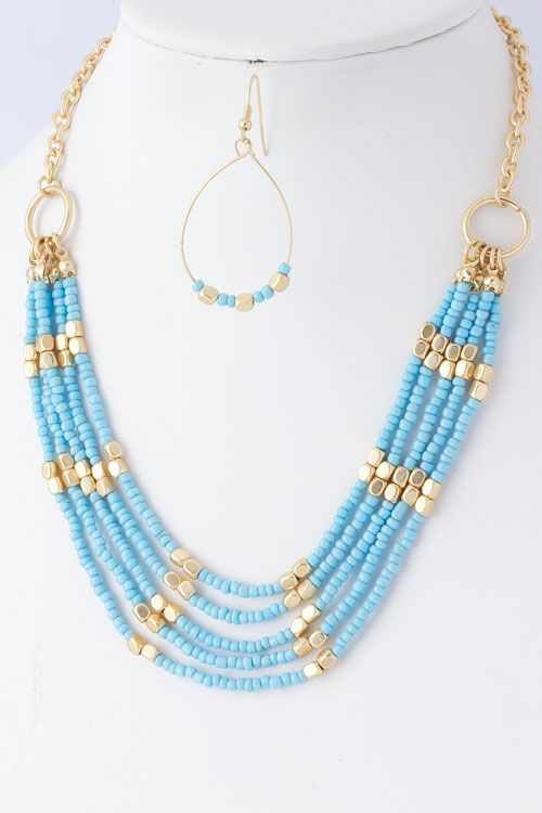 Sky Katelyn Necklace Set on Emma Stine Limited
