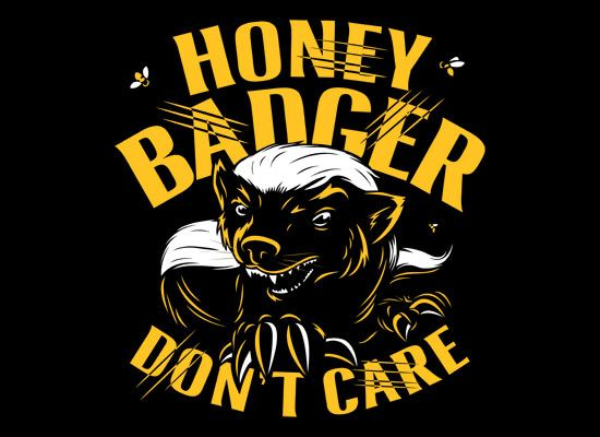 Honey badger dont give a shit - photo#53