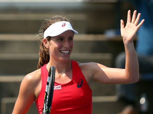 Result: Johanna Konta thrashes Eugenie Bouchard to reach Apia International final