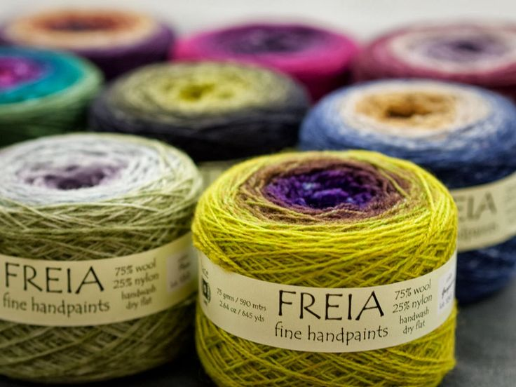 Knitting With Two Colors Carrying Yarn : We now carry freia ombre yarns in sport weight yarn