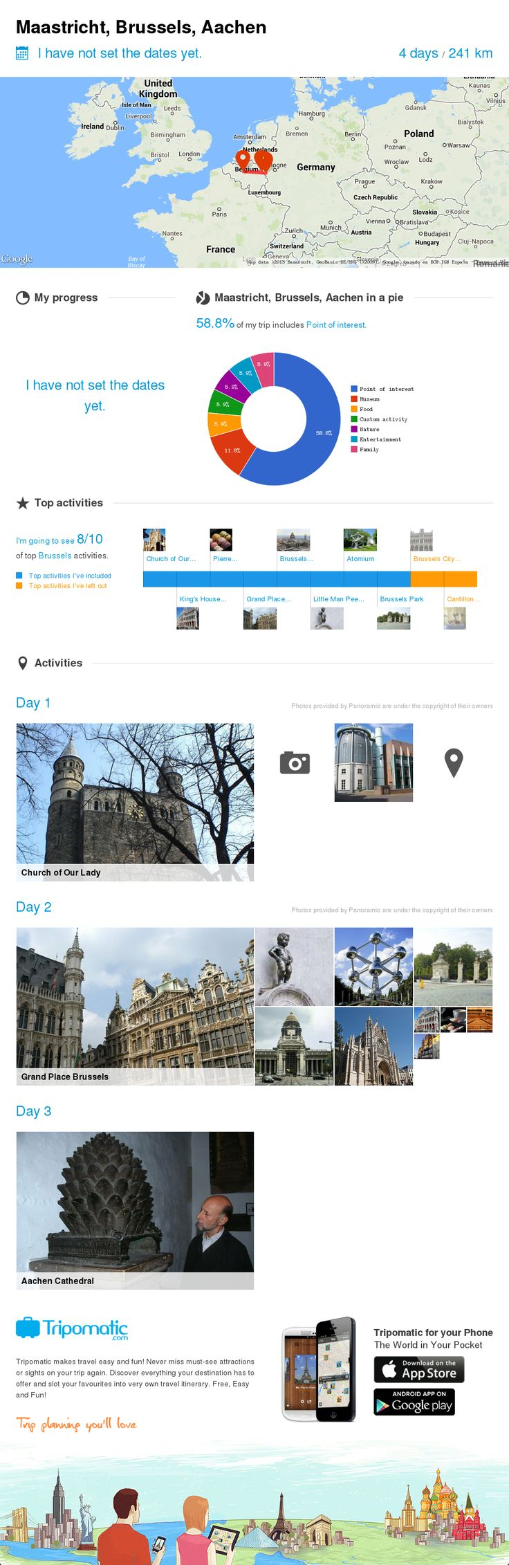 Check out my awesome trip to Aachen, Brussels and Stolberg!